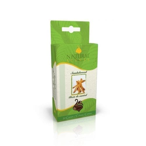 Natural Incense Cones Sandalwood