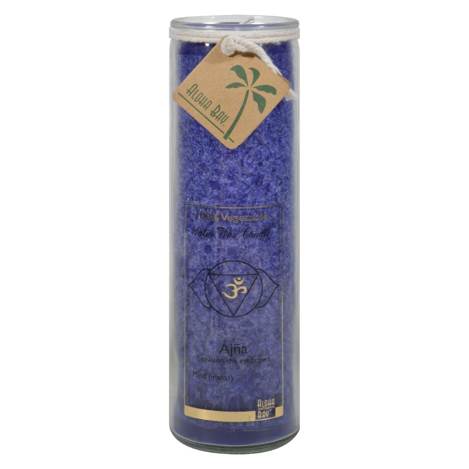 Unscented Chakra Jar candle