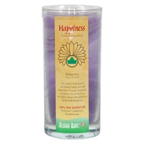 Aloha Bay Chakra Candle Jar Happiness