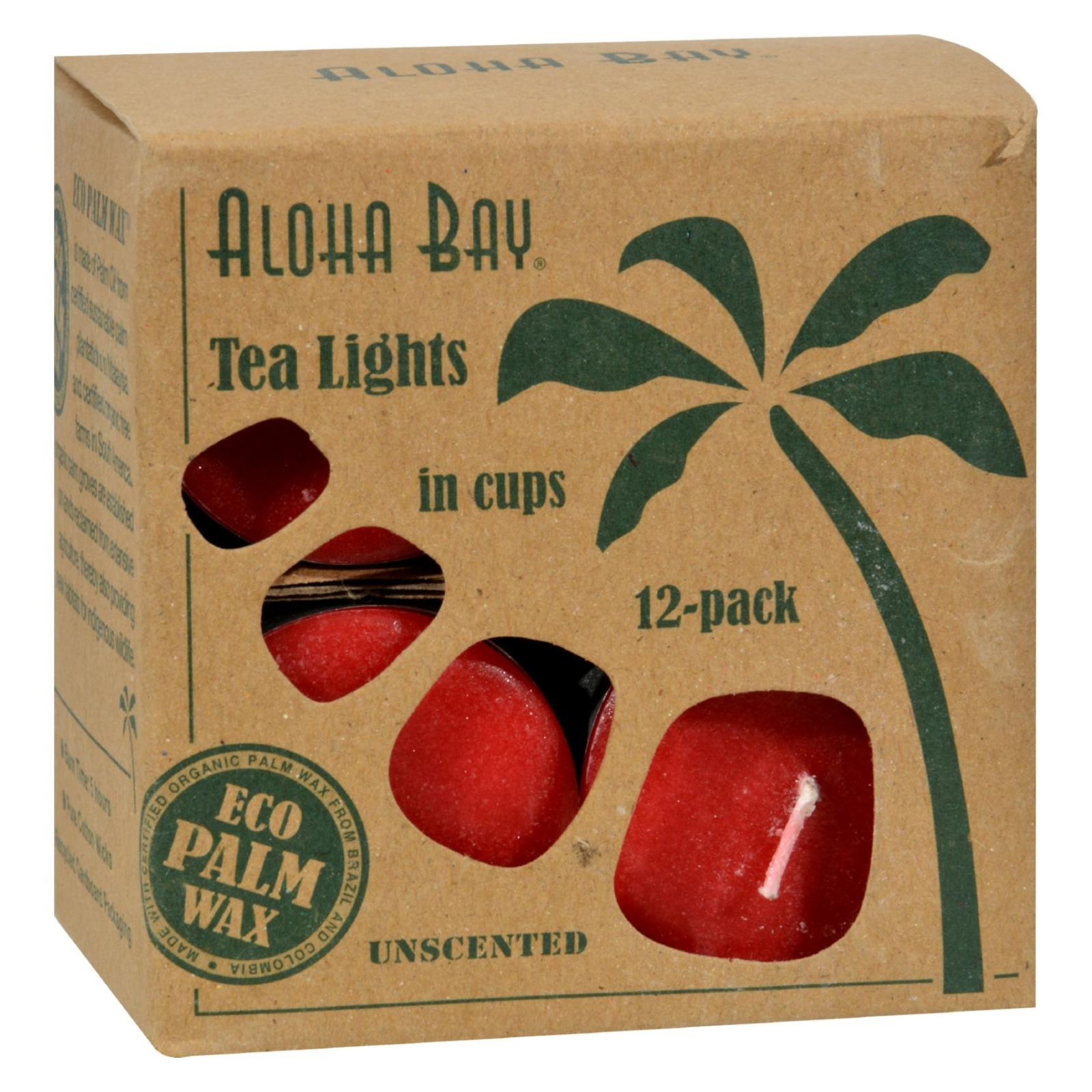 Aloha Bay Red Tea Light