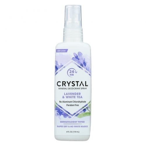 Crystal essence deodorant spray