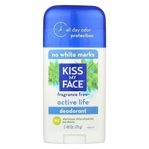 Kiss My Face Deodorant Active Life Fragrance-Free