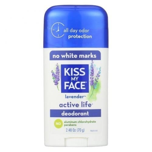 Kiss My Face deodorant active life lavender