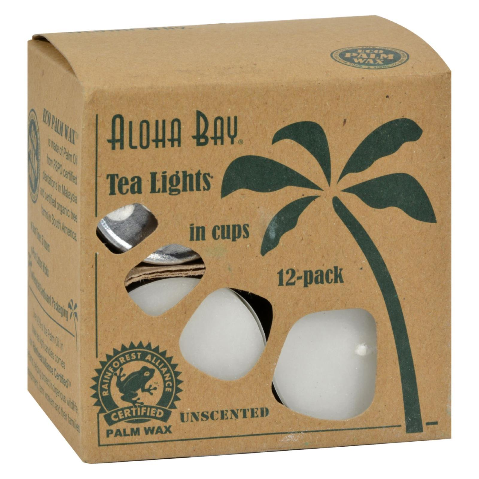 Palm Wax Tea Lights