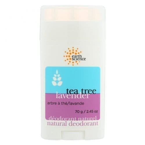 Earth Science deodorant tea tree