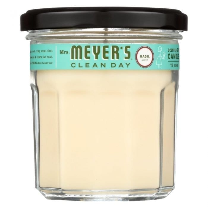 Mrs. Meyers Clean Day Soy Candle basil