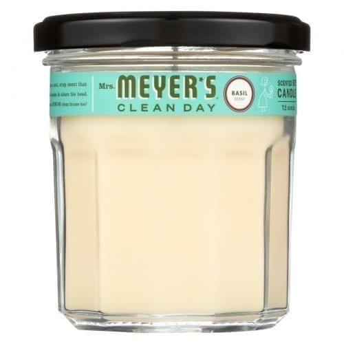 Mrs. Meyers Soy Candle Basil