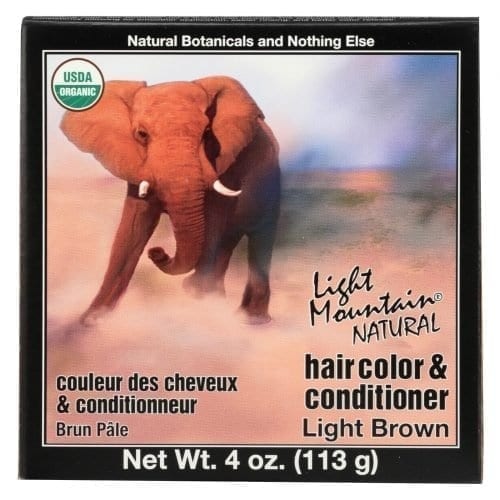 Light Mountain Organic Hair Color Conditioner